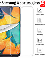 cheap -SAMSUNGScreen ProtectorSamsung Galaxy A40(2019) High Definition (HD) Front Screen Protector 3 pcs Tempered Glass