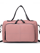 cheap -Women's Oxford Cloth / Polyester Top Handle Bag 2020 Solid Color Black / Blushing Pink / Green / Fall & Winter