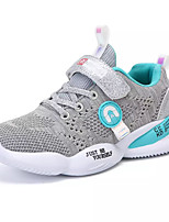 cheap -Boys' / Girls' Comfort Knit / Elastic Fabric Trainers / Athletic Shoes Big Kids(7years +) Running Shoes Fuchsia / Gray Spring