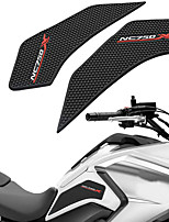 cheap -For Honda NC750X 2014 2015 2016 2017 Motorcycle Rubbe Anti slip Tank Pad Side Gas Protecto Anti Slip Tank Pads ProtectorStickers