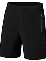 """cheap -Men's Hiking Shorts Summer Outdoor 10"""" Loose Breathable Quick Dry Sweat-wicking Comfortable Cotton Shorts Bottoms Camping / Hiking Hunting Fishing Black L XL XXL XXXL 4XL / Wear Resistance"""