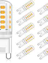 cheap -YWXLIGHT® 10pcs 5 W LED Bi-pin Lights 400 lm G9 T 32 LED Beads SMD 2835 Decorative Warm White Natural White White 220-240 V
