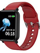 Недорогие -R16 Универсальные Смарт Часы Android iOS Bluetooth Сенсорный экран Пульсомер Измерение кровяного давления Медобеспечение Контроль камеры ЭКГ + PPG
