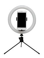 Недорогие -BRELONG® Круглые Живой свет Ночные светильники Диммируемая / Осветительные приборы / Подсветка для селфи Переключение режимов USB 2pcs