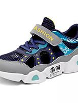 Недорогие -Мальчики Удобная обувь Сетка / Полиуретан Спортивная обувь Большие дети (7 лет +) Беговая обувь Темно-синий / Серый Весна
