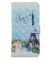 cheap -Case For Samsung Galaxy S20 / Galaxy S20 Ultra / Galaxy S10E Wallet / Card Holder / with Stand Full Body Cases Eiffel Tower PU Leather For Galaxy S10 Plus/A51/A71/A20E/A01/Note 10 Plus
