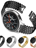 cheap -Watch Band for Gear S3 Frontier / Gear S3 Classic / Samsung Galaxy Watch 46mm Samsung Galaxy Jewelry Design Stainless Steel Wrist Strap