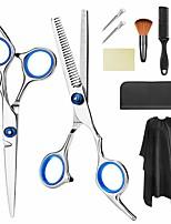 Недорогие -Профессиональный набор ножниц для стрижки волос 9 шт. Набор парикмахерских ножниц Набор ножниц для стрижки волос Истончение ножниц для волос Расческа для волос Зажимы для мыса Plyrfoce Набор для