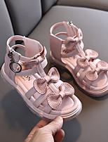 cheap -Girls' Comfort PU Sandals Little Kids(4-7ys) Purple / Pink / Beige Summer