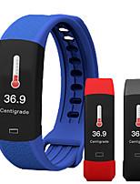 Недорогие -696 B6W Универсальные Умные браслеты Android iOS Bluetooth Водонепроницаемый Пульсомер Измерение кровяного давления Спорт Термометр