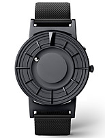 cheap -Men's Sport Watch Japanese Quartz Stainless Steel 30 m Day Date Analog Fashion Cool - Black One Year Battery Life