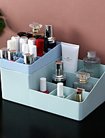 cheap -Multiple Grid Makeup Organizer Storage Box lipstick lipstick Nail Drill polish organizer Cosmetic Jewelry Box Holder