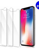 Недорогие -3шт прозрачное закаленное стекло для iphone x xr xs max 8 7 6 6s плюс защитная пленка
