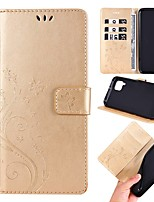 cheap -Case For Huawei P Smart 2019/P30 Pro/P40 Lite Wallet /Card Holder / with Stand Full Body Cases Butterfly / Solid Colored PU Leather For Huawei Honor 20 Pro/10 Lite/8A/Y6 Pro 2019/Y7 Prime 2019/Y9 2019