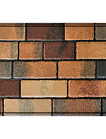 cheap -Fancy Floor Tiles Rectangle 2/5 (1 cm) Doormats Machine Made Bonded Non Skid Classic