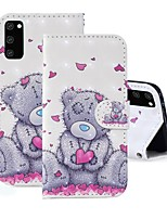 cheap -Case For Samsung Galaxy A91 / M80S / Galaxy A81 / M60S / S20 Plus Wallet / Card Holder / with Stand Full Body Cases Panda PU Leather For Samsung Galaxy S20 Ultra/A01/A11/A21/A41/A70E