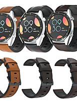 Недорогие -Ремешок для часов для Huawei Watch GT / Huawei Watch GT 2 / Huawei Watch GT2 46mm Huawei Спортивный ремешок / Классическая застежка / Бизнес группа Натуральная кожа Повязка на запястье
