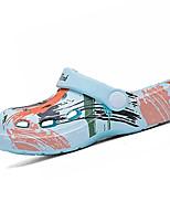 cheap -Boys' / Girls' Comfort EVA(ethylene-vinyl acetate copolymer) Sandals Little Kids(4-7ys) White / Yellow / Pink Summer / Color Block