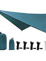 Недорогие -Товары для кемпинга тени ткани открытый водонепроницаемый солнцезащитный крем палатка четыре угла алмазный навес завод оптовая продажа