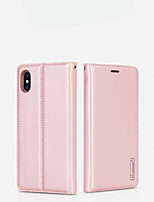 cheap -Case For Apple iPhone 7/8/7P/8P/X/XS/XR/XS Max/11/11Pro/11Pro Max/SE 2020 Card Holder / Shockproof / Flip Full Body Cases Solid Colored TPU / Plastic