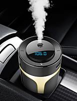 Недорогие -Автомобильное зарядное устройство Bluetooth для беспроводной громкой связи mp3-плеер FM-передатчик QC3.0 быстрая зарядка очистки воздуха ароматерапия увлажнитель