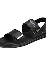 cheap -Men's Summer Outdoor Sandals PU White / Black