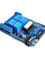 cheap -4 channel Wireless DC 5V Relay Expansion Bluetooth Shield Board