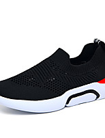 cheap -Boys' / Girls' Comfort Knit Trainers / Athletic Shoes Comfort Loafers Big Kids(7years +) Walking Shoes Split Joint Black / Red Spring / Summer