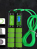 cheap -Jump Rope / Skipping Rope Sports ABS Exercise & Fitness Portable Smart Adjustable Durable Muscular Bodyweight Training Weight Loss For Men Women / Kid's