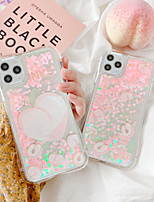 cheap -Case For Apple iPhone 11 / iPhone 11 Pro / iPhone 11 Pro Max Shockproof / Flowing Liquid Back Cover Cartoon TPU