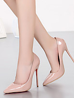 cheap -Women's Heels Summer / Fall Stiletto Heel Pointed Toe Daily Party & Evening Pigskin / PU Walking Shoes Black / Light Pink