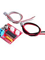 cheap -2-Ch DC Motor Driver Module 2.5A CW CCW PWM Speed Control Dual H Bridge