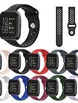 Недорогие -ремешок наручные спортивные часы для fitbit versa 2 / versa lite сменный силиконовый браслет браслет