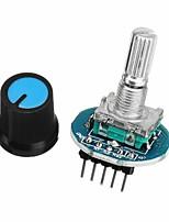 cheap -Digital Control Module Rotary Encoder Module Potentiometer With Knob Cap