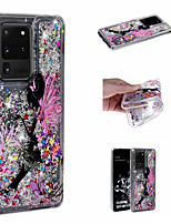 cheap -Case For Samsung Galaxy S20 Ultra S20 Plus Phone Case TPU Material Quicksand Painted Pattern Phone Case for Samsung Galaxy S20 S10 Plus S10 S10e S9 Plus S9 S8 Plus S8