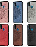 cheap -Case For Samsung Galaxy Galaxy J4 Plus(2018) / Galaxy J6 Plus(2018) / Galaxy M30s Pattern Back Cover Flower Oxford Cloth