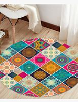 Недорогие -Богемия стиль современный круглый коврик напольный коврик нескользящий абсорбирующий ковер коврик для йоги для прихожей спальня гостиная диван домашнего декора