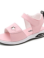 cheap -Girls' Comfort PU Sandals Little Kids(4-7ys) White / Pink / Blue Summer