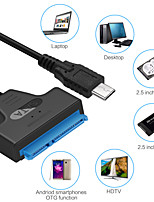 cheap -Type-C 3.0 to SATA Cable Adapter Up To 6Gbps Support 2.5 Inches External HDD SSD Hard Drive 22Pin SataIII Data Transmission Cable
