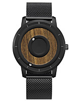 cheap -Men's Sport Watch Japanese Quartz Stainless Steel Silicone Day Date Analog Fashion Cool - Black Brown Black+Gray One Year Battery Life
