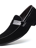 cheap -Men's Summer / Fall Classic / Casual Daily Office & Career Loafers & Slip-Ons Faux Leather Non-slipping Wear Proof Black / Blue / Brown
