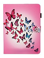 cheap -Case For Apple iPad New Air 10.5 / iPad Mini 3/2/1/4/5 Card Holder / with Stand / Flip Full Body Cases Butterfly PU Leather For iPad 10.2 2019/Pro 11 2020/Pro 9.7/2017/2018