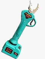 Недорогие -110v-220v yiyuan многофункциональный электрический ножницы фруктовых деревьев беспроводной рюкзак литиевая батарея аккумуляторная фрукты филиал ножницы высокая ветвь ножницы секатор