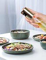 cheap -Push type oil bottle glass oil pot barbecue oil spray bottle oil spray pot