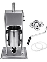cheap -Stainless Steel 5L Stuffer Maker Machine Commercial Kitchen Sausage Filler