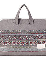 cheap -Laptop Bag National Style Canvas Inner Bag Handbag Support 13.3/14/15.6 Inch