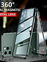 cheap -Magnetic Double Sided Case For Apple iPhone 11 / iPhone 11 Pro / iPhone 11 Pro Max Shockproof / Dustproof / Transparent Full Body Cases Transparent Tempered Glass / Metal