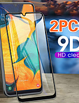 cheap -2PCs 9D Curved Edge Full Cove For Samsung Galaxy A10 A50 A40 A30 A70 Tempered Glass Screen Protector