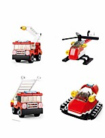 cheap -Building Blocks Educational Toy Construction Set Toys 138 pcs Car Cartoon compatible Plastic Shell Legoing Exquisite Hand-made Decompression Toys DIY Boys and Girls Toy Gift / Kid's