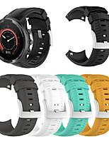cheap -Watch Band for SUUNTO 9 / SUUNTO Spartan Sport / Suunto Spartan Sport Wrist HR Baro Suunto Sport Band Silicone Wrist Strap